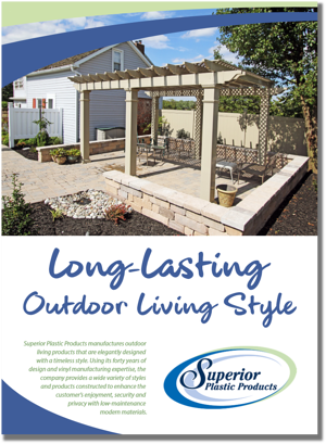 Long-Lasting Outdoor Living Style Drop Shadow